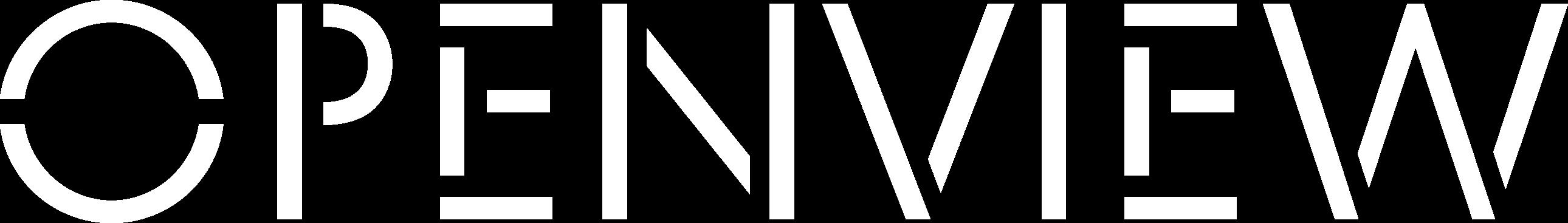 OpenView Logo White-2